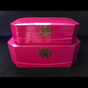 Decorating Storage Boxes - A Pair!